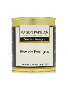 Bloc de foie-gras de canard