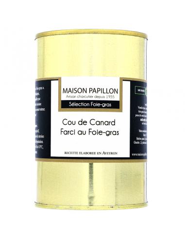 Cou de Canard Farci au Foie-gras