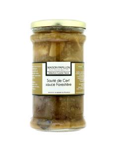 Sauté de Cerf sauce Forestière