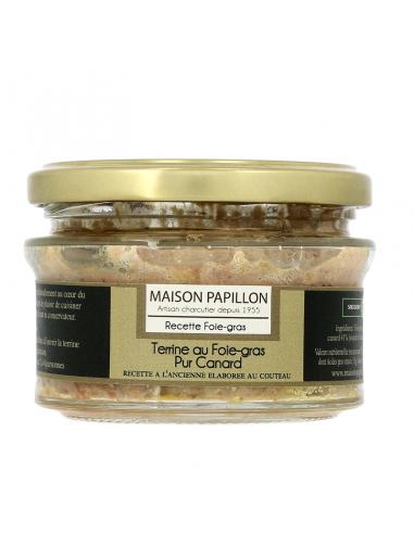 Terrine 50% Foie-gras Pur canard