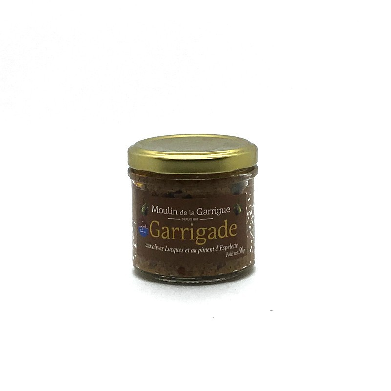 Moulin de la Garrigue - Épicerie fine - Garrigade Olive et Piment d'Espelette